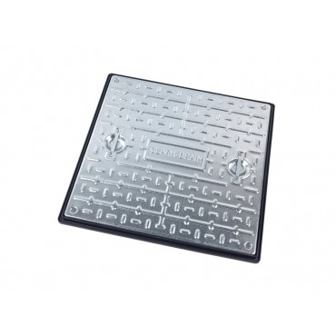 600 X 600 X 30mm Sealed Pedestrian Solid Top Drain Cover