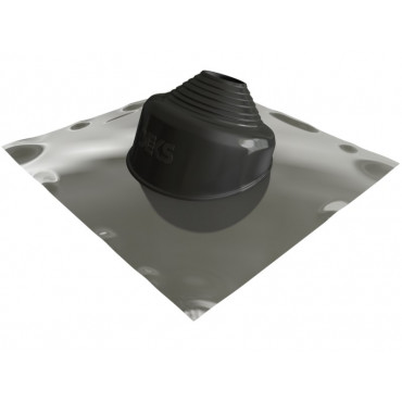 Seldek Aluminium Pitched Black 150 - 280mm Black EPDM SDAP103B