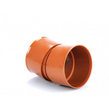 150mm x 15 Deg Polysewer Bend PS609