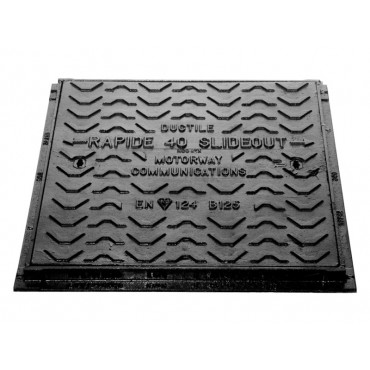 Rapide B125 Single Piece Slide Out Access Cover 450 x 450 x 40