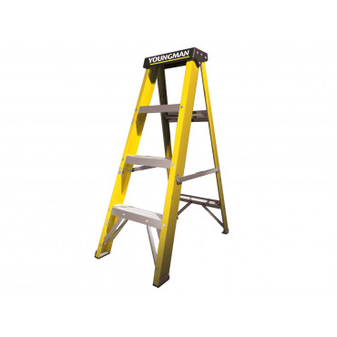 GRP S400 4 Tread Lightweight Swingback Step Ladder
