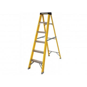 GRP S400 6 Tread Lightweight Swingback Step Ladder