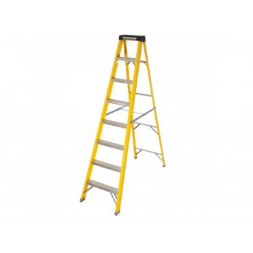 GRP S400 8 Tread Lightweight Swingback Step Ladder