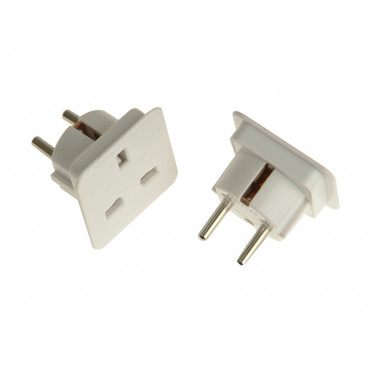European Travel Adaptor - Pack of 2