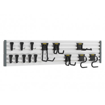 Track Wall System Starter Kit, 20 Piece
