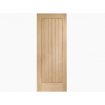 Contemporary Internal Oak Suffolk Door Various Sizes