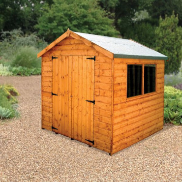 Surrey Untreated Standard Storage Shed 2.1 x 2.1m