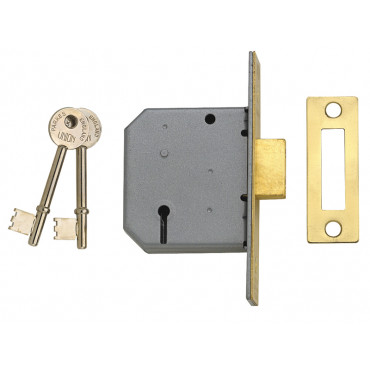3 Lever Mortice Deadlocks - 2177
