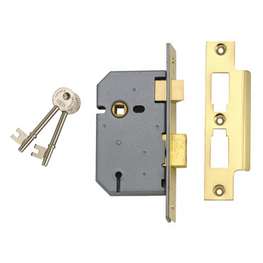 3 Lever Mortice Sashlocks - 2277