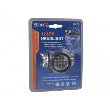 334170 Headlamp 12 LED
