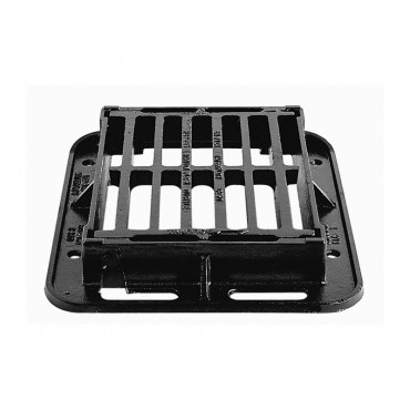 Waterflow C250 Single Piece Captive Hinged Gully Grating 312 x 325 x 75 Left Hand Opening