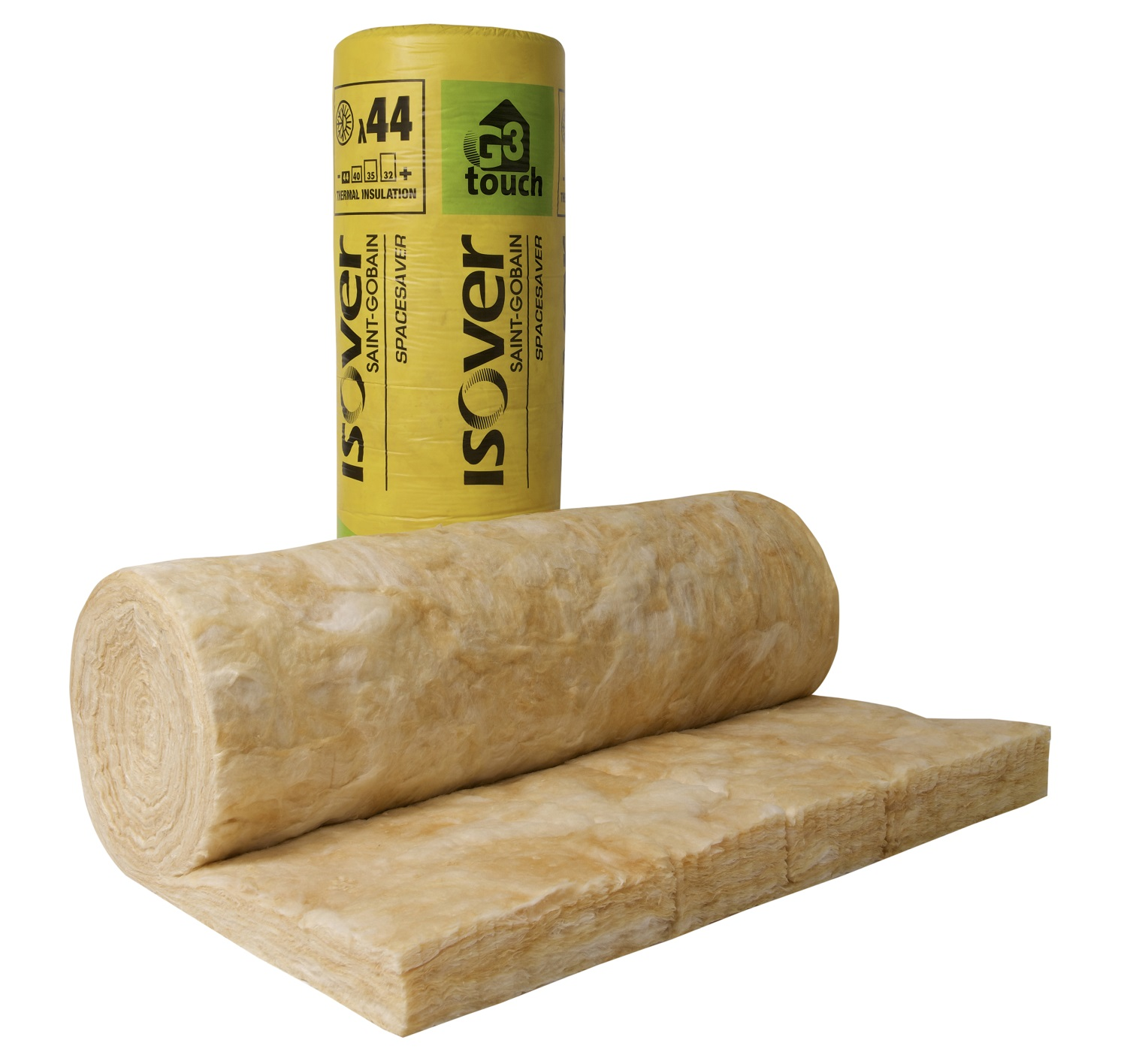 Isover spacesaver g3 touch mineral wool loft insulation for 3 mineral wool insulation